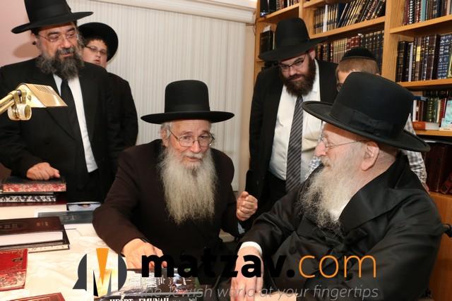 Photos: Rav Moshe Dovid Lefkowitz Visits Lakewood, NJ ...