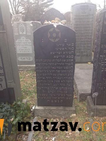 Mateiva of Reb Pinchos Aron Bruder Ztl
