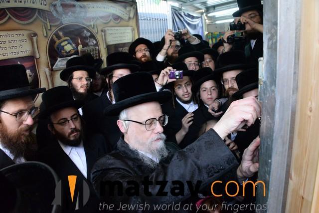 Seret-Viznitzer Rebbe, Rav Yaakov Hager (3)