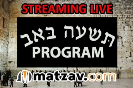 Torah Connections Tisha B'Av Program