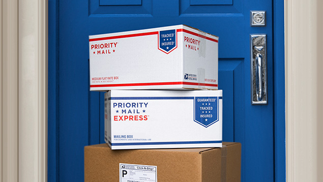 how to leave online order at post office