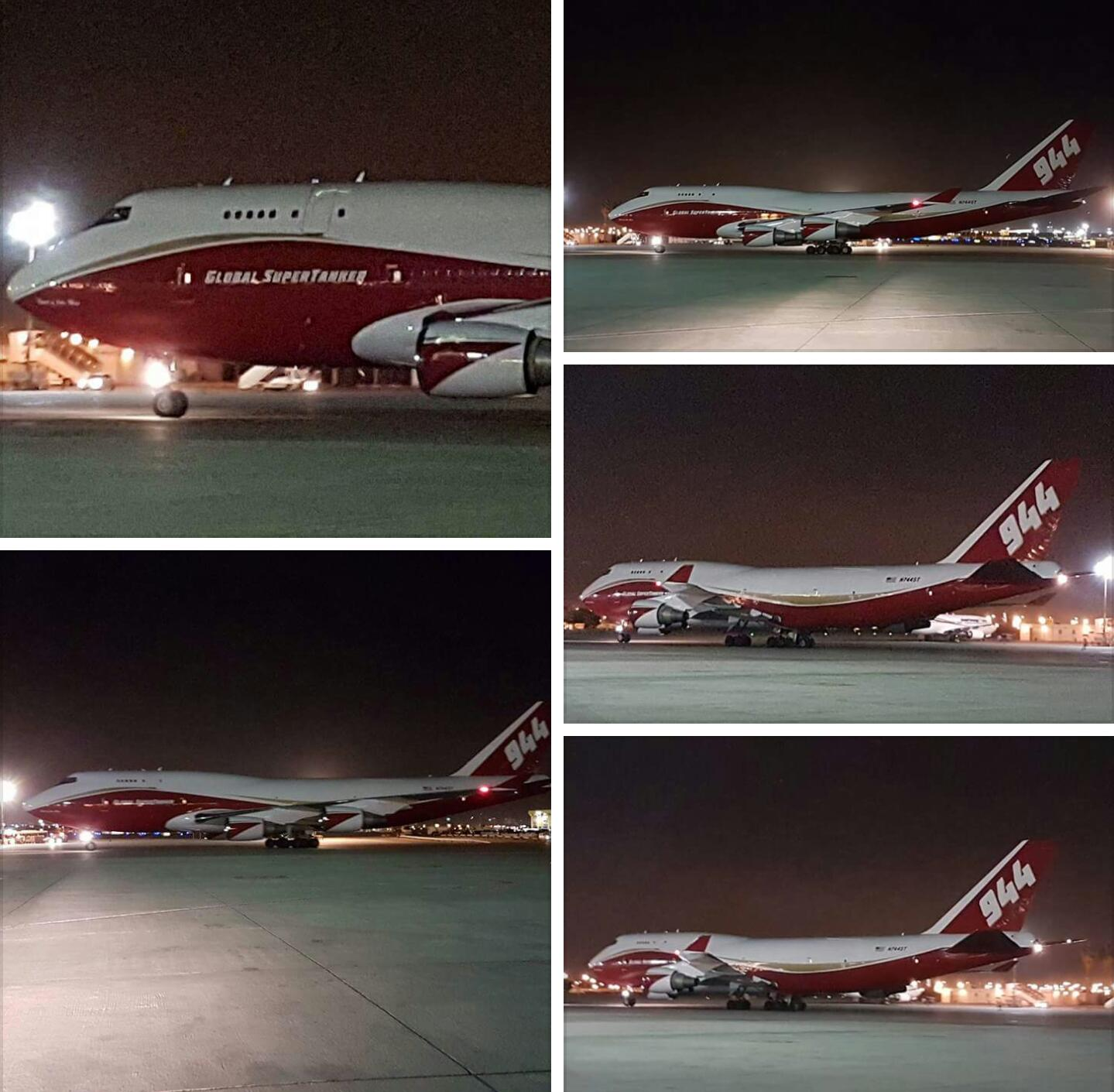 World's Largest Firefighting Plane Lands in Israel ...