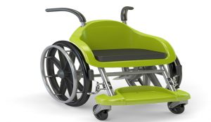 Wheelchairs of Hope, meant especially for children, are meant to look like a fun toy.