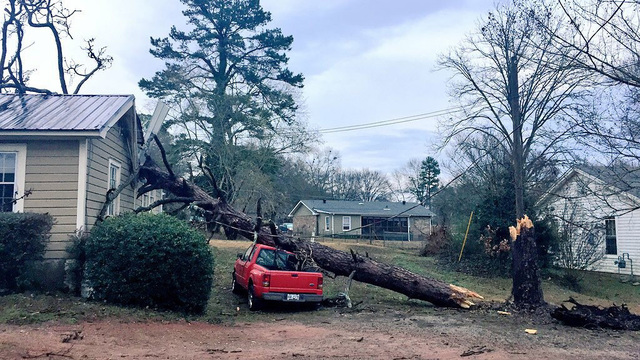Tornadoes Ripped Through Rural Southern Georgia On Sunday Killing At Least 14 People Flattening Much Of A Mobile Home Park And Prompting The Governor To