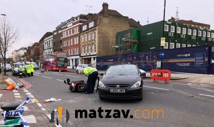 explosion stamford hill