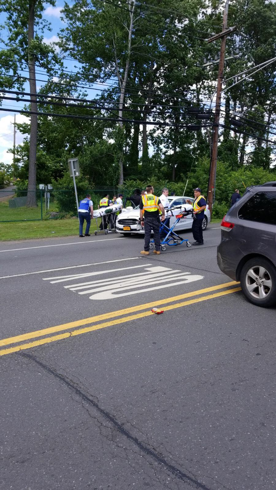 Route  Monsey Car Accident