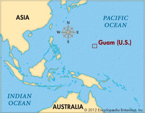 Why North Korea Threatened Guam The Tiny US Territory With Big - North korea map of us targets
