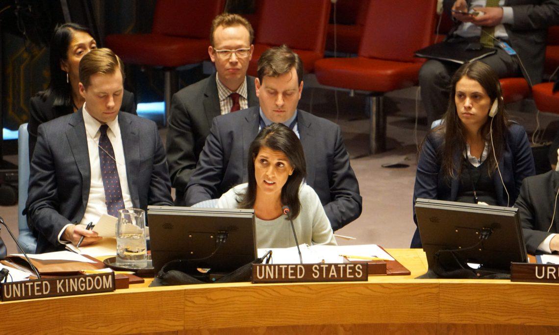 UN Ambassador Nikki Haley: I Will Not Shut Up | Matzav.com