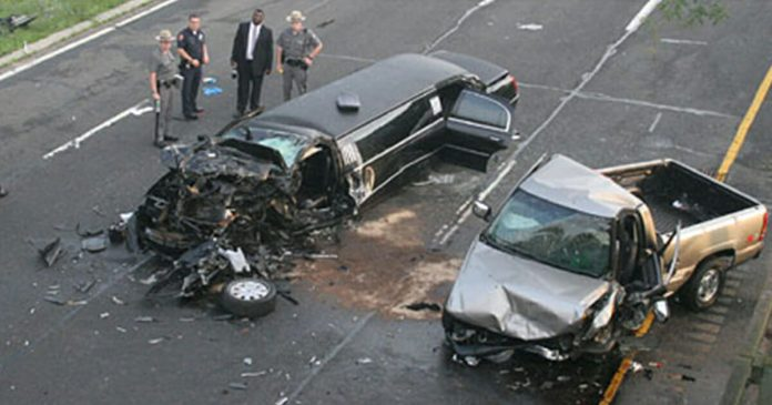20 people dead in limo crash involving wedding party