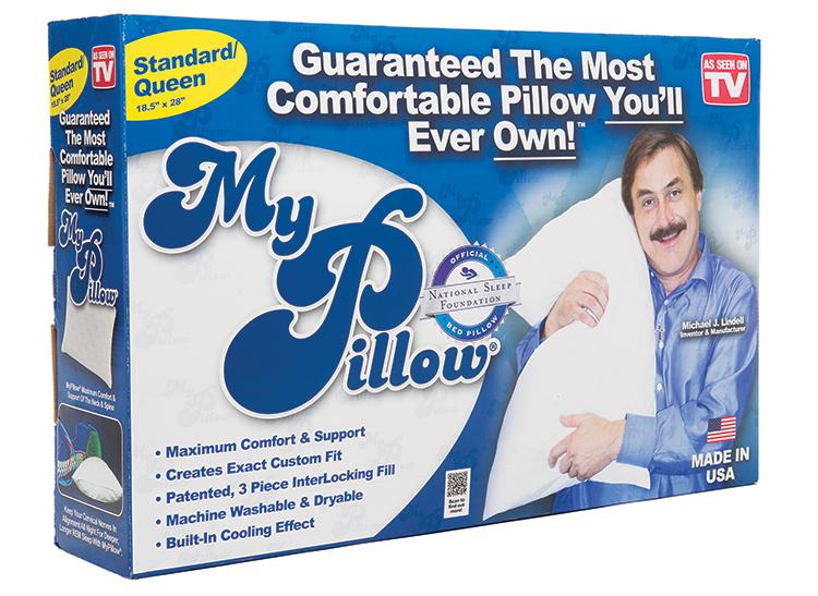 My Pillow,' The Infomercial Sensation, Flunks Out Of Better
