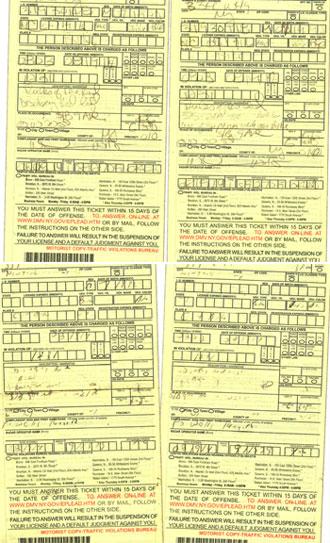 Traffic Ticket Nyc >> Petition Seeks To Abolish Nyc Traffic Violations Bureau