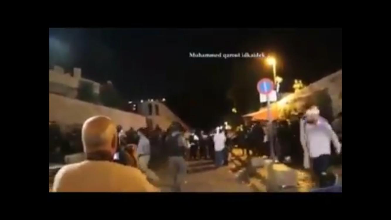 Jew Detector: Har Habyis: Watch: Violent Riots Underway As Muslims