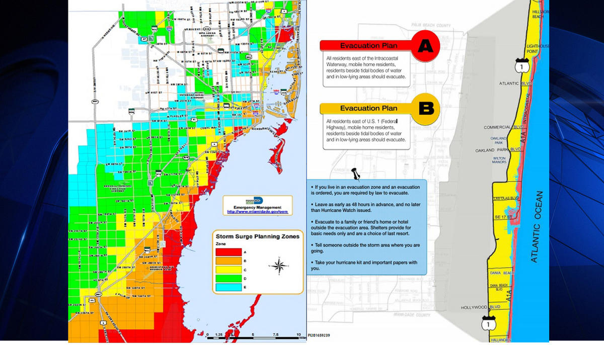 650,000 ordered to evacuate in miami-dade county   matzav