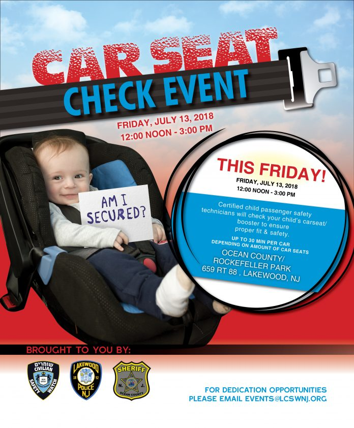 Today Car Seat Check Event In Lakewood Matzavcom