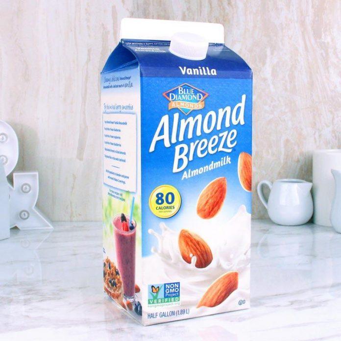 Milk To Almond Breeze
