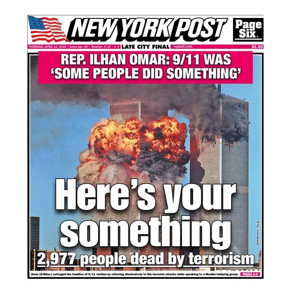 ilhan omar bashed for reference to 9  11 as  u2018something