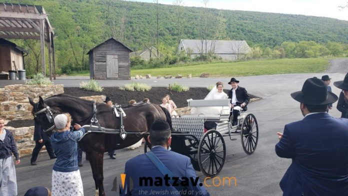 HEIMISH AND AMISH: Social Distanced Chasunah Held in Amish Country, PA – Videos and Photos 1